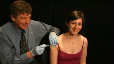 Professor Ian Frazer developed the world's first cervical cancer vaccine.
