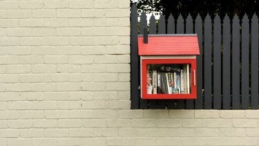 A Leichhardt street library.