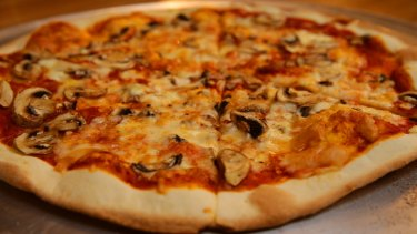 A pizza topped with meat and vegetables had a concerning amount of phthalates.