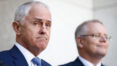 Prime Minister Malcolm Turnbull and Treasurer Scott Morrison have said the parliament will vote to back in the survey result.