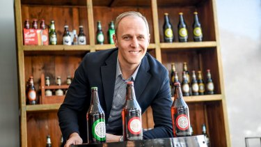 Andrew Cooper is the sixth generation of the Cooper family to join the famous Australian beer company.
