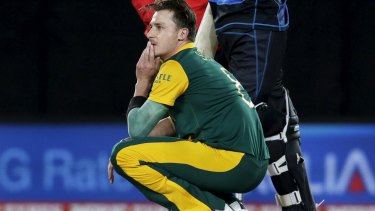 A stunned Dale Steyn ponders what might have been.