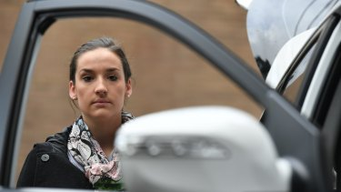 Elizabeth Blanchard says buying a second hand car is an 'overwhelming' process.