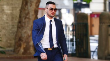 Salim Mehajer arrives at Central Local Court in November.