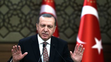 """In the past year more than 1800 people have been arrested in Turkey on charges of """"insulting the President"""", Recep Erdogan."""