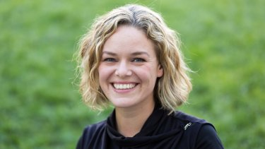 Katherine Maher, head of the Wikipedia Foundation