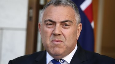 """It is wrong to say it's the weakest growth since 1961, it' is just factually wrong"": Treasurer Joe Hockey."