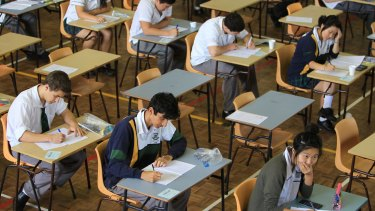 Several WA students have experienced clinical levels of stress during exams this year.
