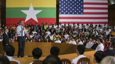 On an historic visit to the south-east Asian country in 2014 US President Barak Obama referred to both Burma and Myanmar.