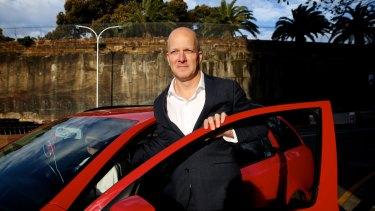 GoCatch CEO David Holmes is bringing the service to Brisbane.