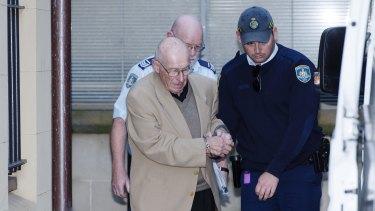 Roger Rogerson leaves court.