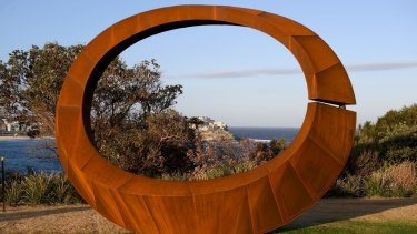 Orb by David Ball won the $60,000 prize for Sculpture by the Sea.