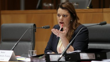 """""""Border Force are out of control"""": Greens Senator Sarah Hanson-Young."""