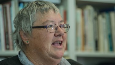 Problem gambler Laurie Brown, whose complaint against the Raiders has been upheld.