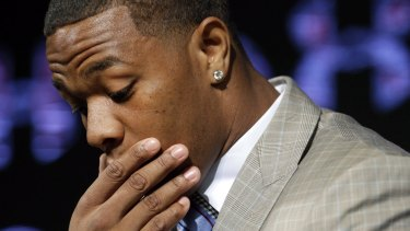 Suspended: Baltimore Ravens'  Ray Rice has been indefinitely suspended from the game since the violent video emerged.