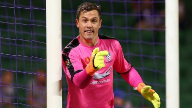 'Best in the country': Danny Vukovic has been described as the best goalkeeper in the A-League by coach Graham Arnold.