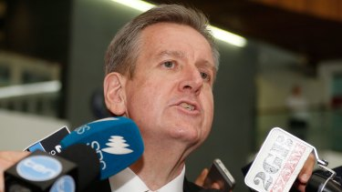 Barry O'Farrell will start as chief executive of Racing Australia in late January.