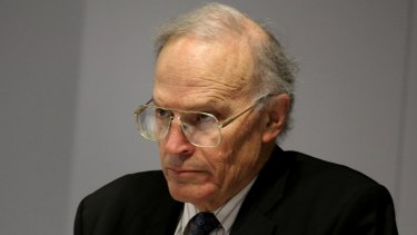 Royal commissioner Dyson Heydon during hearings.