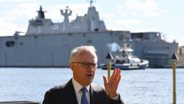 "Prime Minister Malcolm Turnbull has warned over Labor's ""vacillation""."