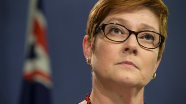 Defence Minister Marise Payne declined to give details of the RAAF's involvement.