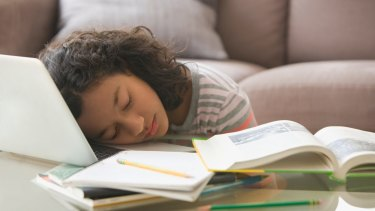 Working: The sleep test indicated why it's important for students to be well-rested.