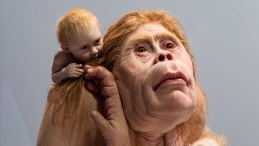 Kindred by Patricia Piccinini.