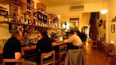 Gerald's Bar in Rathdowne Street, North Carlton.