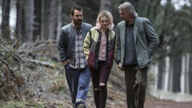 Looking for Grace film still starring Odessa Young (C) Eden Leslie (L) and Sam Neill (R)