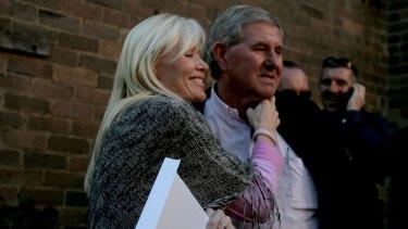 Billionaire Bob Ell, pictured with wife Bridget in 2006, is Queensland's third richest person.