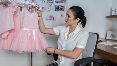 Felicia Palanca drew on her background as a ballerina to found Flo Dancewear and Flo Active.