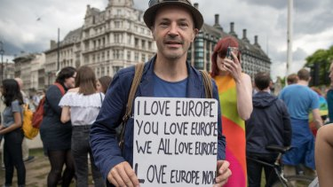 Not everyone in Britain wants to leave the European Union.
