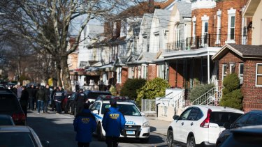 Police search a Brooklyn apartment where Akayed Ullah lived with his parents.