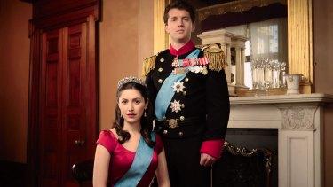 <i>Mary: The Making of a Princess</i> will air on Ten in November and star Ryan O'Kane (as Prince Frederik) and Emma Hamilton (as Princess Mary).
