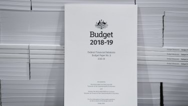 "The government claims to have ""turned the corner"" on debt and deficit but the improvement will depend on some optimistic forecasts."
