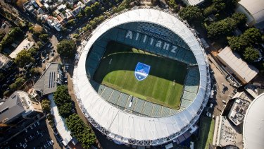 Work on Allianz Stadium could start as early as May.