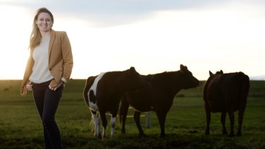 Bellamy's Organic CEO Laura McBain.
