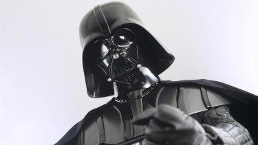 Darth Vader from the <i>Star Wars</i> films.
