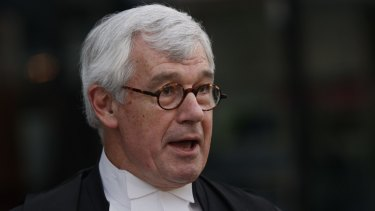 Julian Burnside QC is representing Amber Harrison.