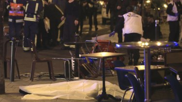Parisians offered their homes to strangers to escape the danger on the city's streets.