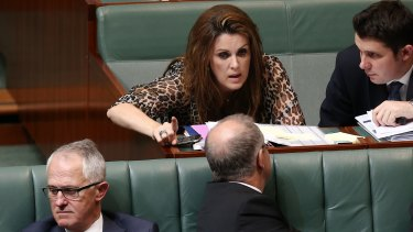 Ms Bishop says it's time former prime minister Tony Abbott's chief of staff, Peta Credlin, was allowed to move on with her life.