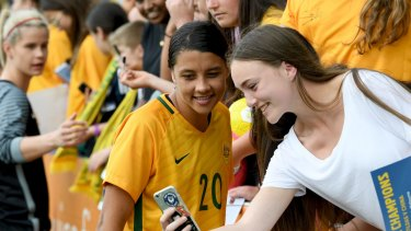 FFA want the Matildas, including Sam Kerr, on home soil as much as possible to maximise the impact of their current success.