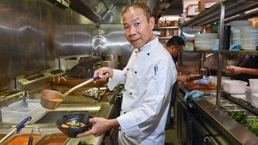 Laksa King founder Esmond Wong came to Australlia as a 15-year-old refugee.