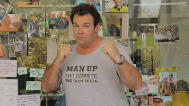Gus Worland is encouraging men to speak up about mental-health issues in <i>Man Up</i>.