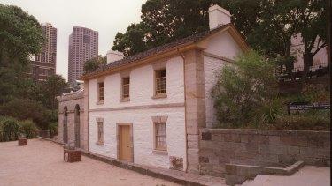Cadman's Cottage.