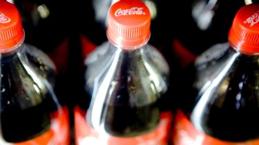 Pricing pressure in the big supermarkets and weaker sales in convenience stores and petrol stations weighed on Coca-Cola Amatil's profit margins.
