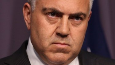 Tough year: Support for Treasurer Joe Hockey has slipped away since his delivery of the budget.