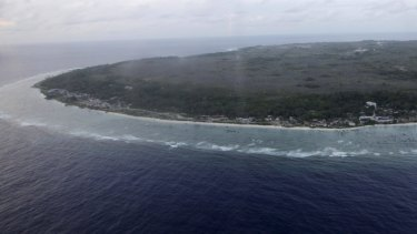 Out of sight, out of mind: The island of Nauru.