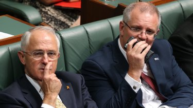 Prime Minister Malcolm Turnbull and Treasurer Scott Morrison will need to use their sales skills.