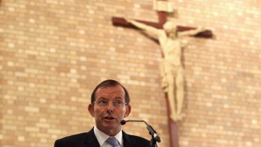 Tony Abbott's decisions on issues such as gay marriage seem to be based on his personal beliefs rather than sound democratic process.