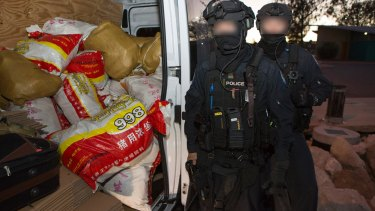 More than 20 search warrants across the country have also been carried out as a result of the massive operation.